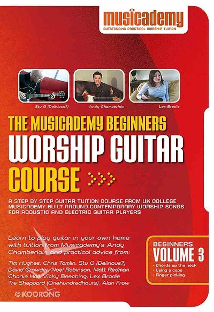 Musicademy: Beginner's Worship Guitar Volume 3 DVD