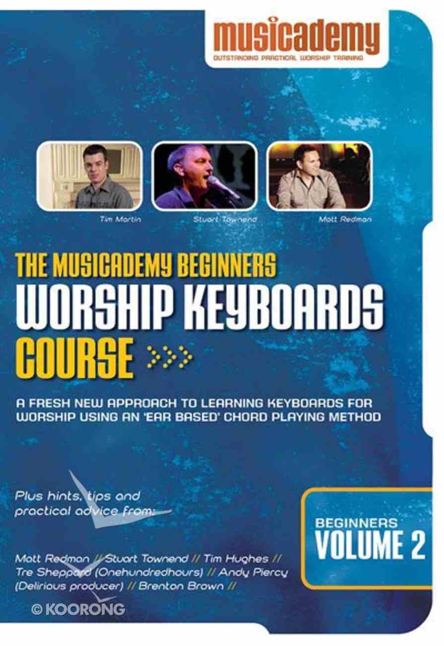 Musicademy: Beginner's Worship Keyboard Volume 2 DVD