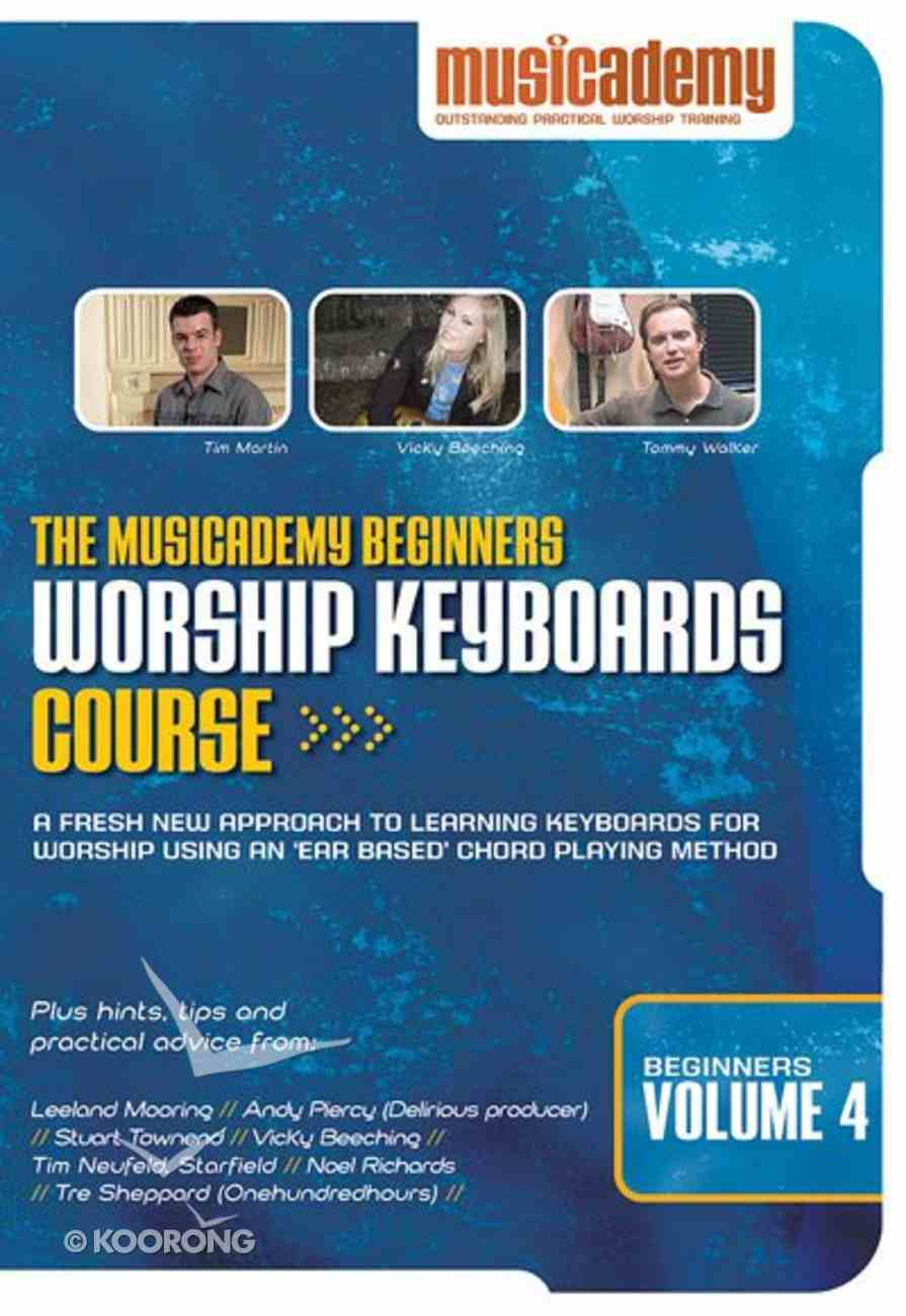 Musicademy: Beginner's Worship Keyboard Volume 4 DVD
