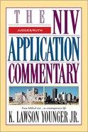 Judges/Ruth (Niv Application Commentary Series) Hardback