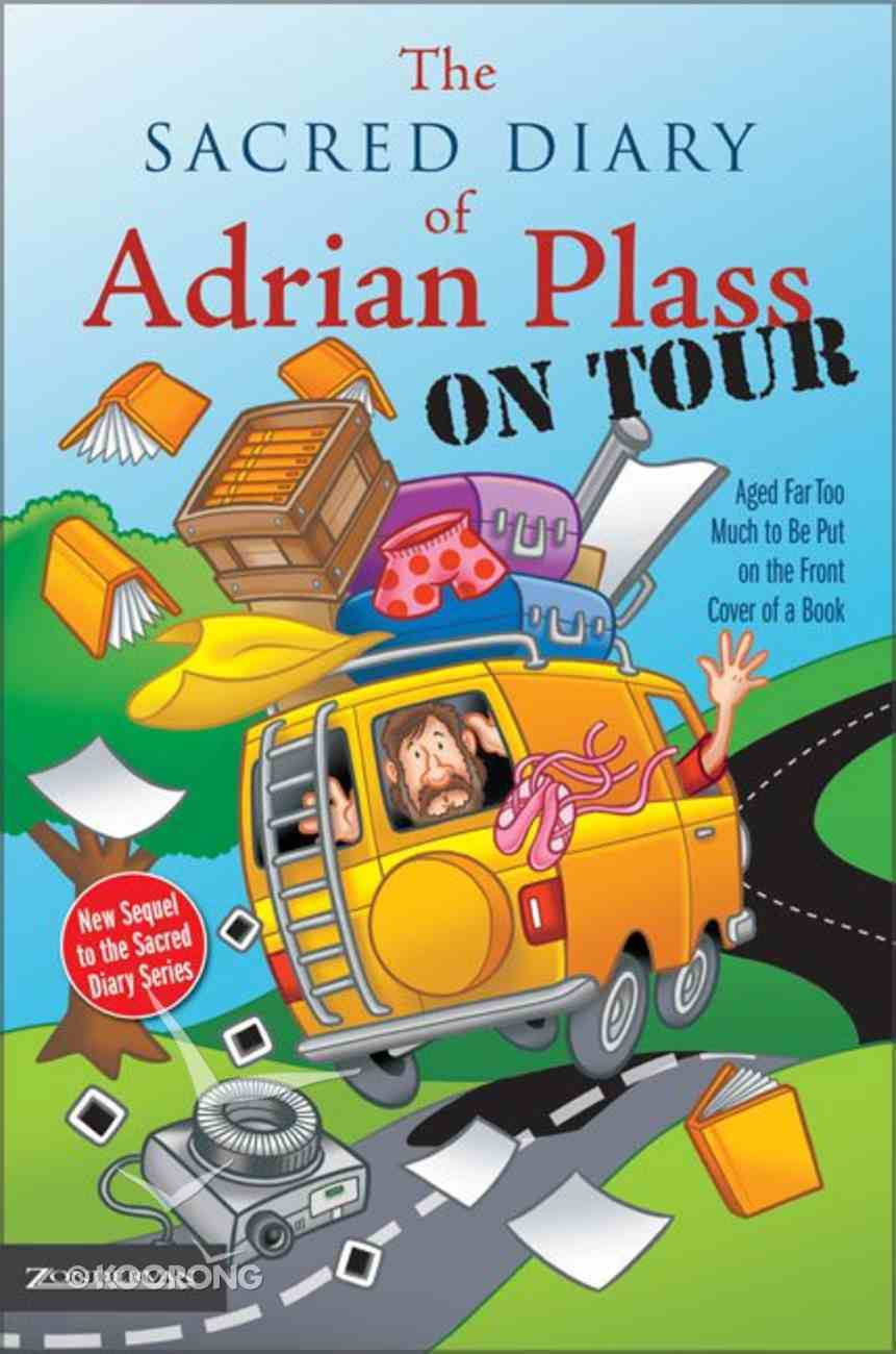 Sacred Diary of Adrian Plass on Tour Paperback