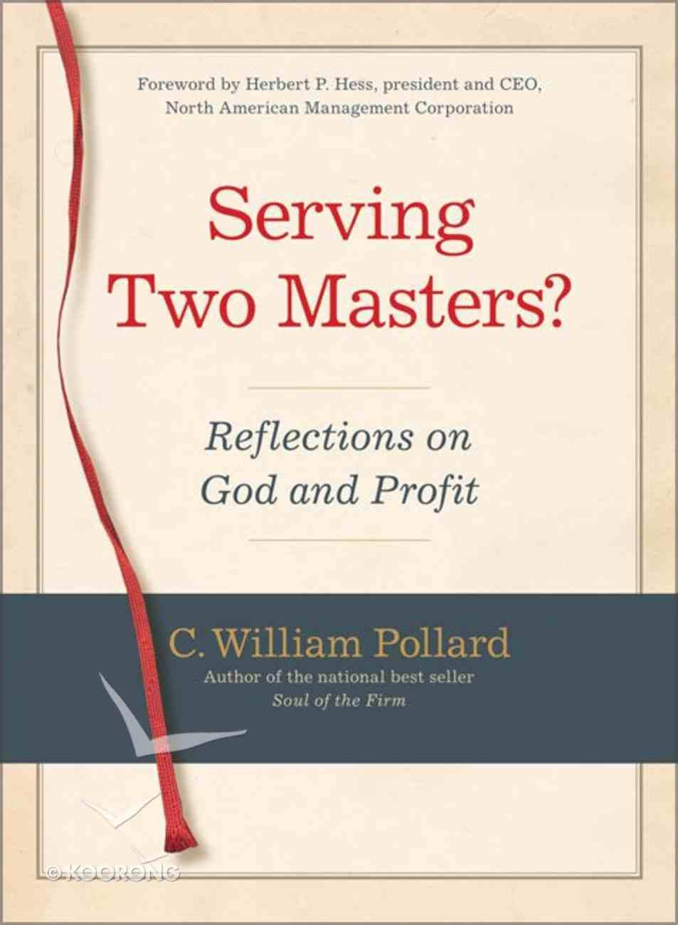 Serving Two Masters? Hardback