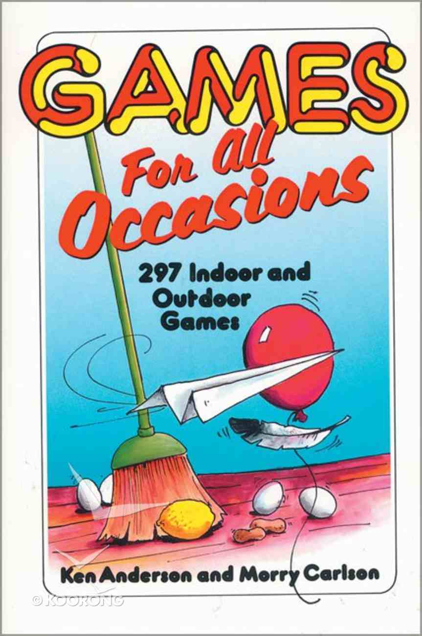 Games For All Occasions Paperback