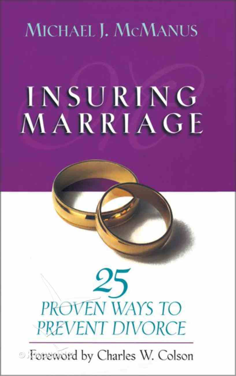 Insuring Marriage Paperback