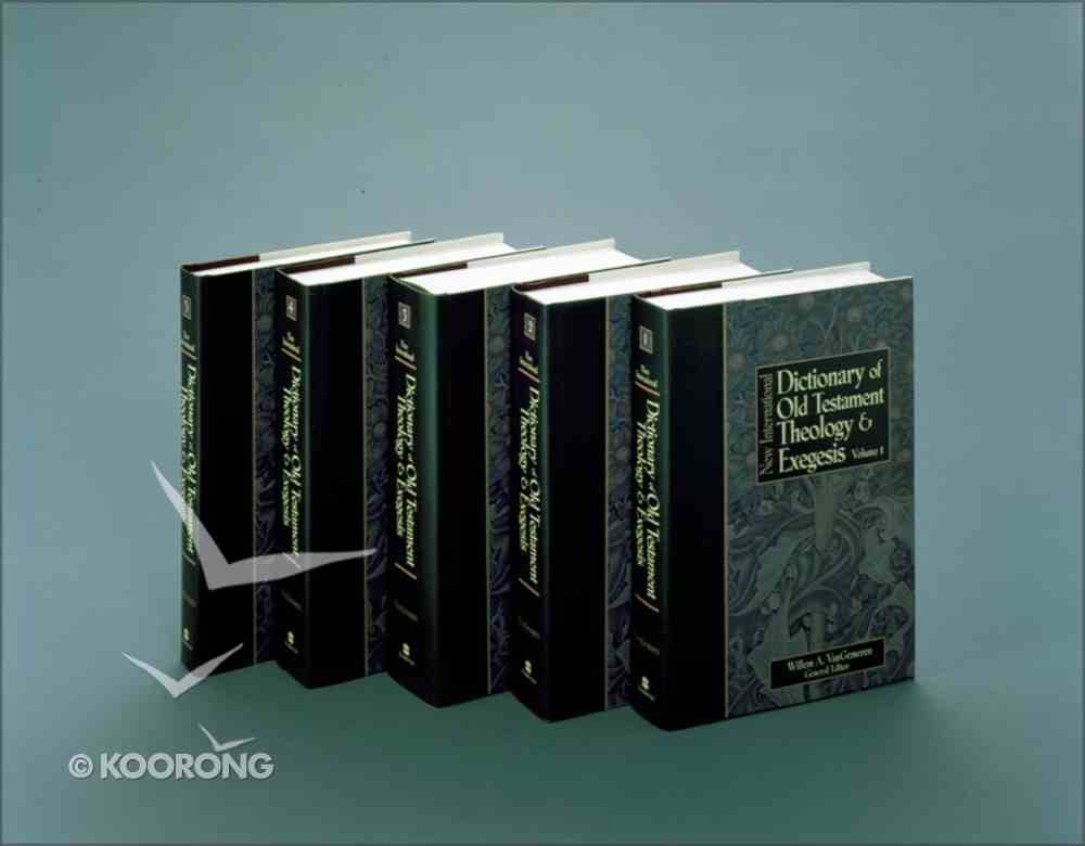 Nidotte New International Dictionary of Old Testament Theology and Exegesis Hardback