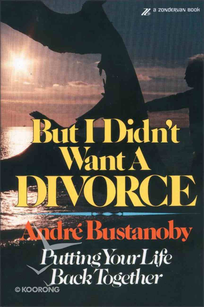 But I Didn't Want a Divorce Paperback