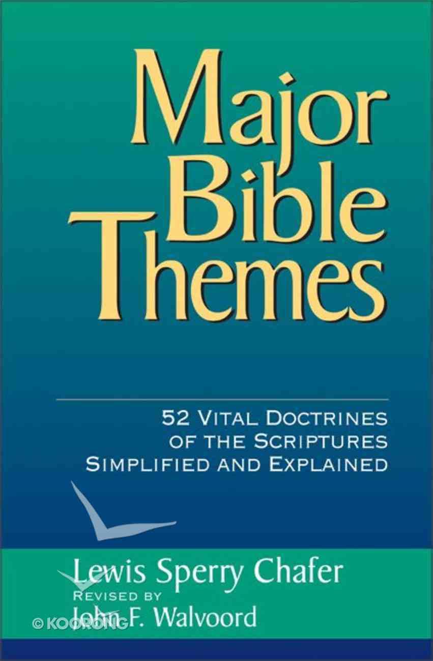 Major Bible Themes Hardback