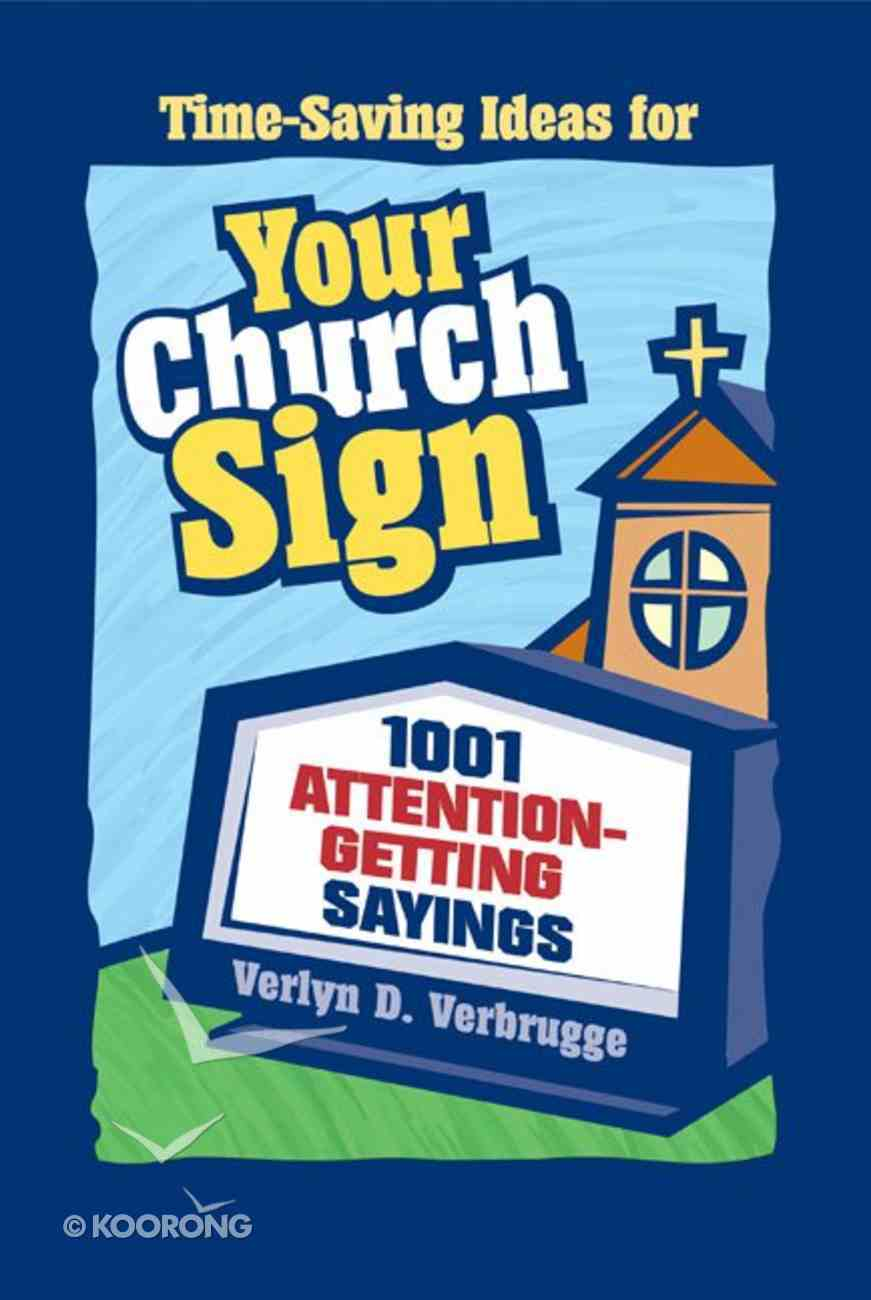 Your Church Sign Paperback