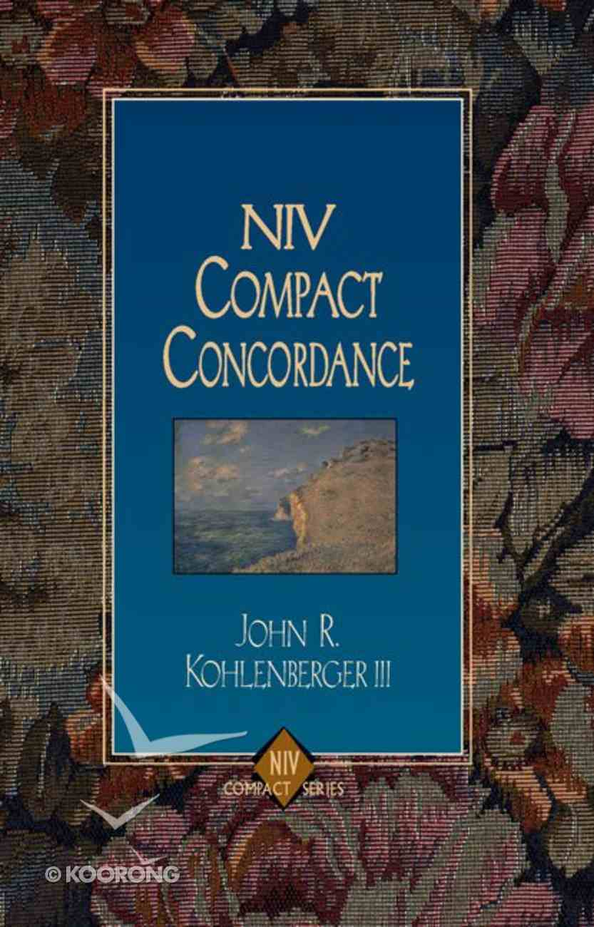 NIV Compact Concordance Paperback