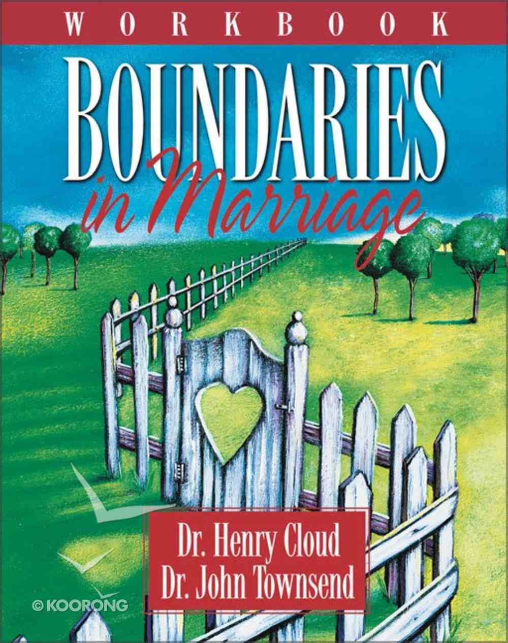 Boundaries in Marriage (Workbook) Paperback