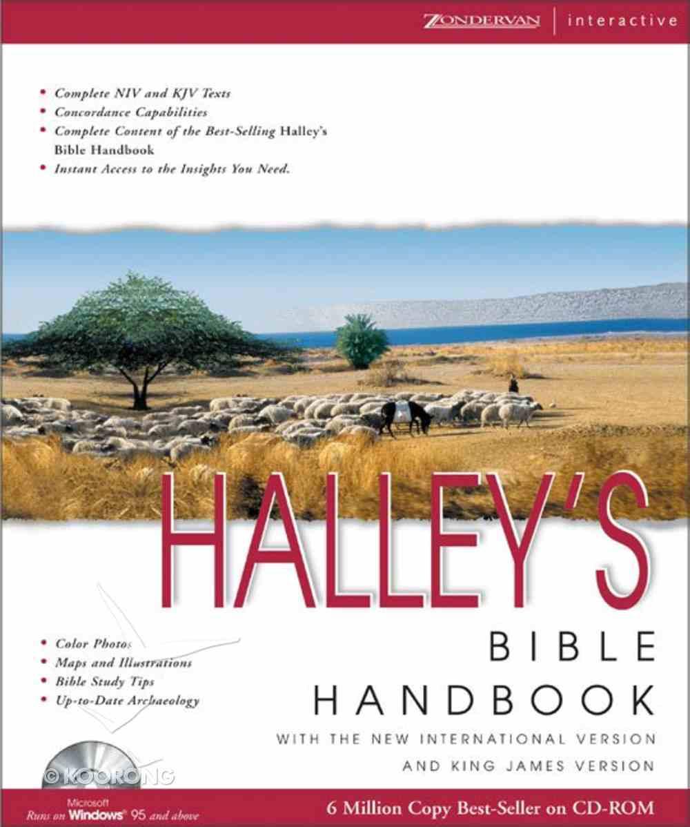 Halleys Bible Handbook CDROM Win CD-rom