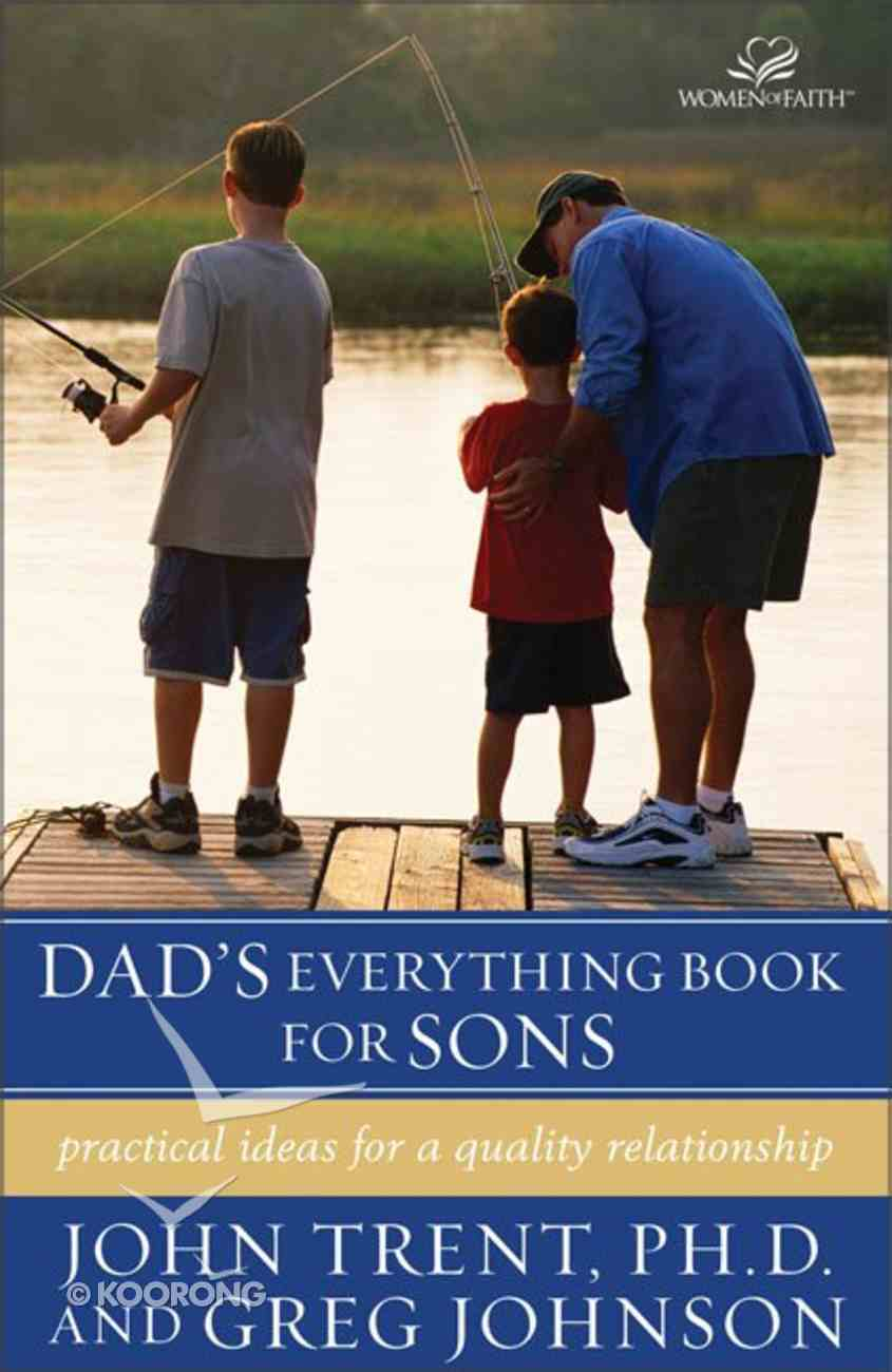 Dad's Everything Book For Sons Paperback