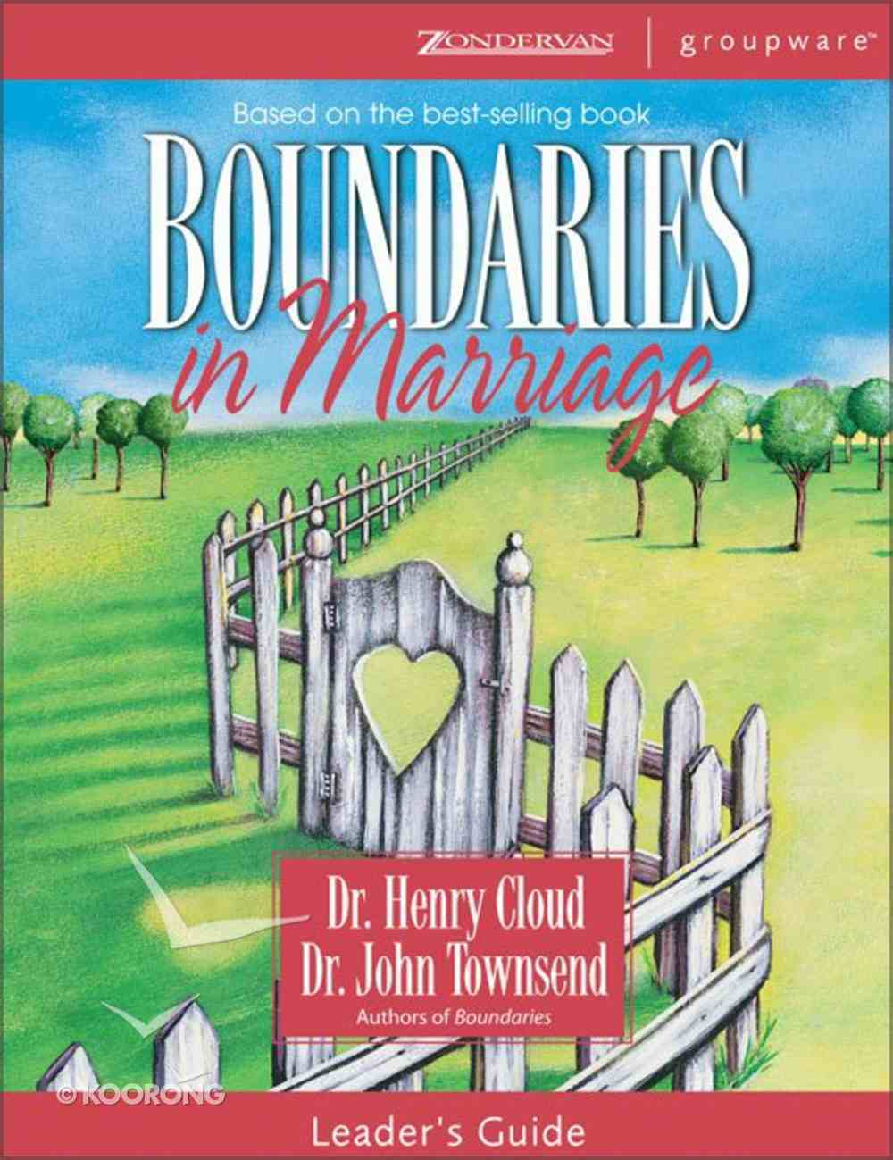 Boundaries in Marriage (Leader's Guide) Paperback