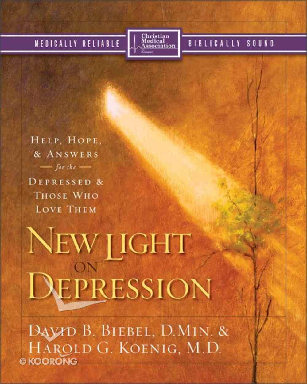 New Light on Depression (Christian Medical Association Resources Series) Paperback