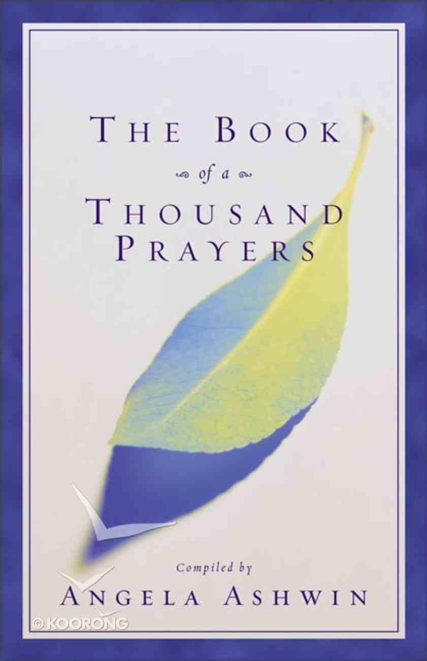 The Book of a Thousand Prayers Paperback