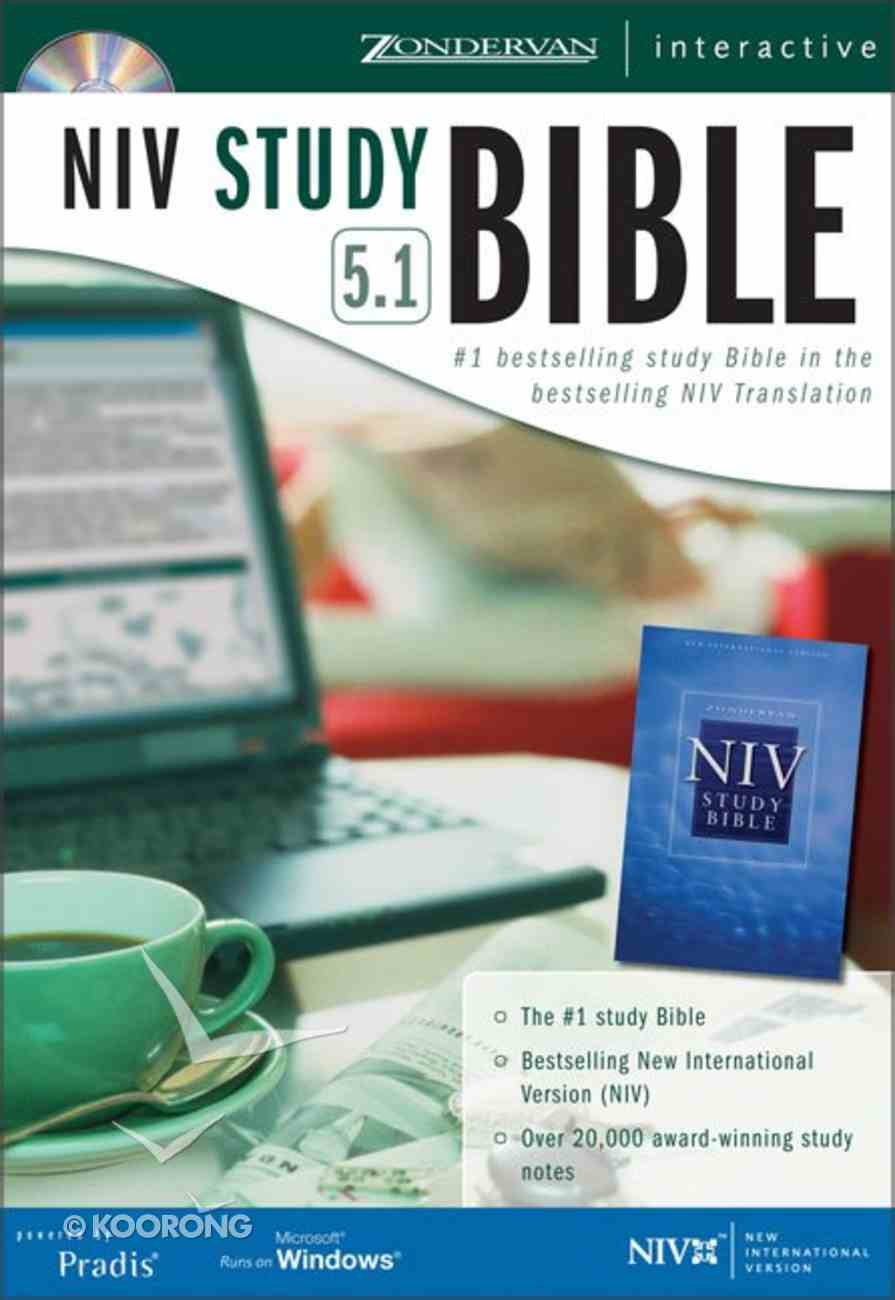 NIV Study Bible 5.1 For Windows CDROM CD-rom