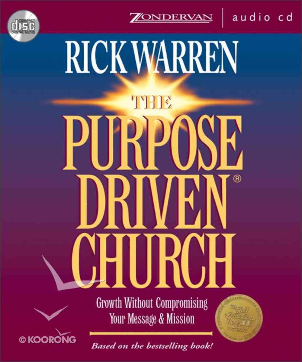 Purpose Driven Church (Abridged) (The Purpose Driven Church Series) CD