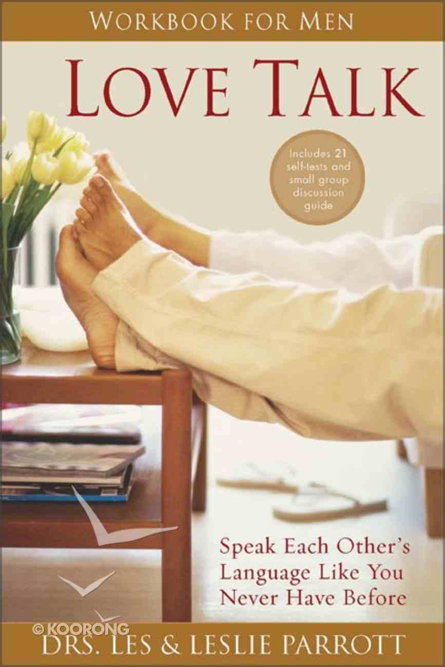 Love Talk Workbook For Men Paperback