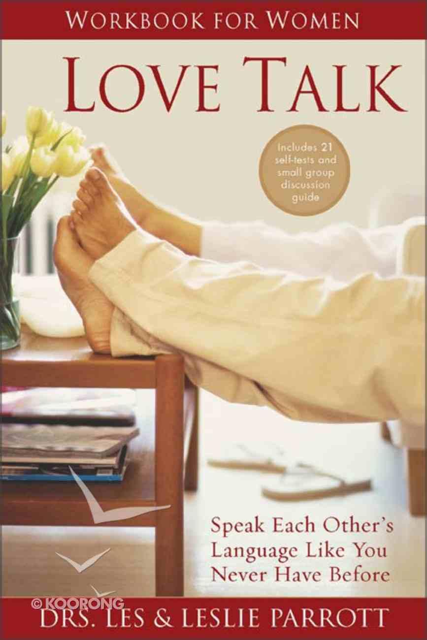 Love Talk Workbook For Women Paperback