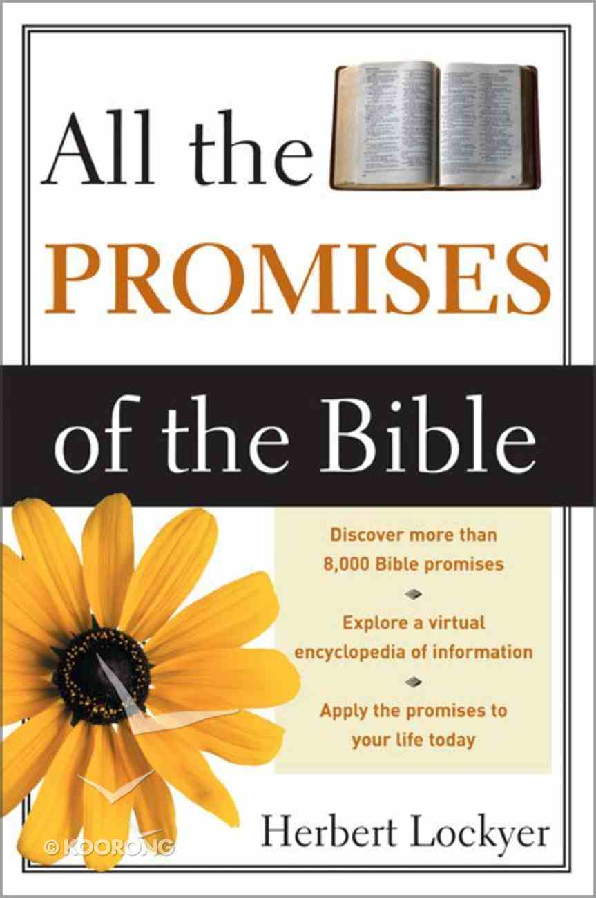 All the Promises of the Bible Paperback