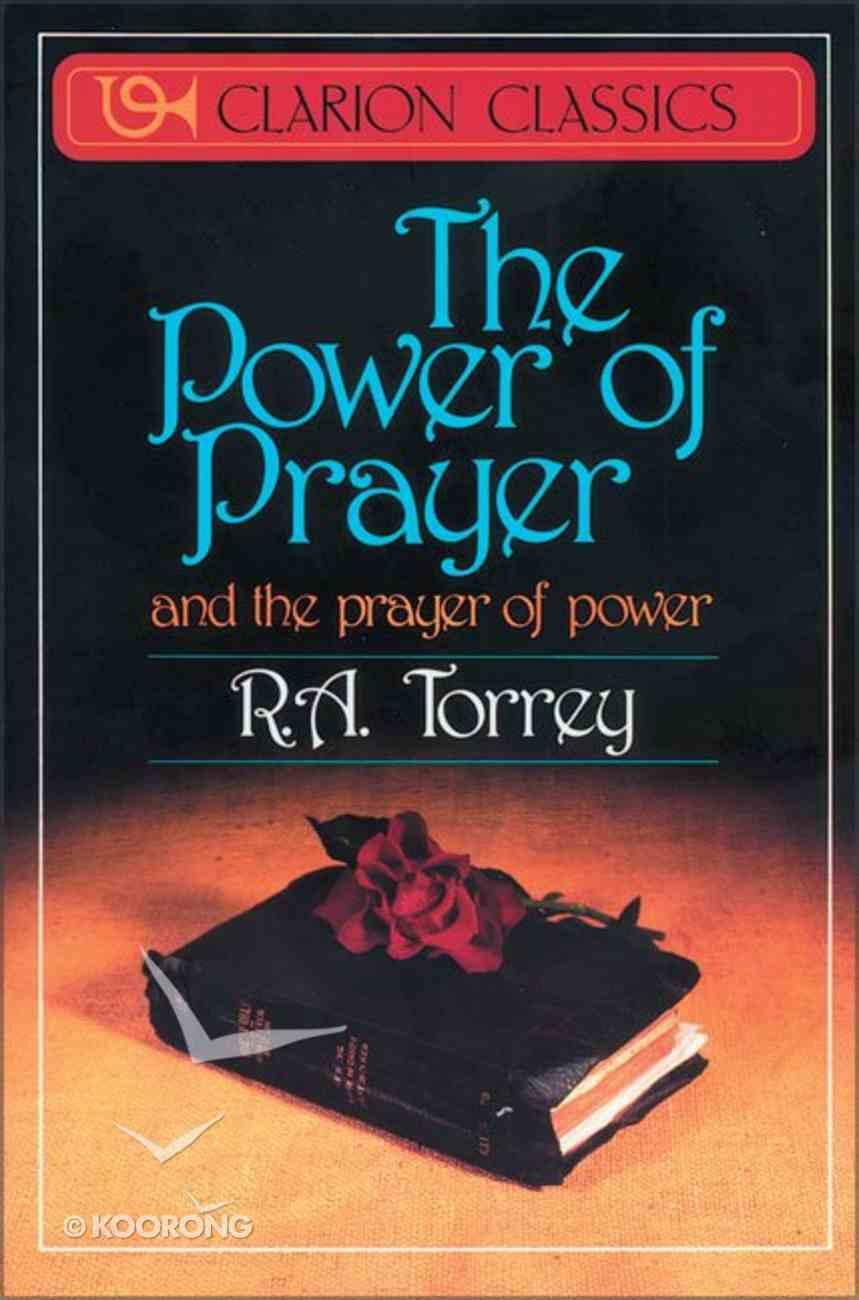 The Power of Prayer Paperback