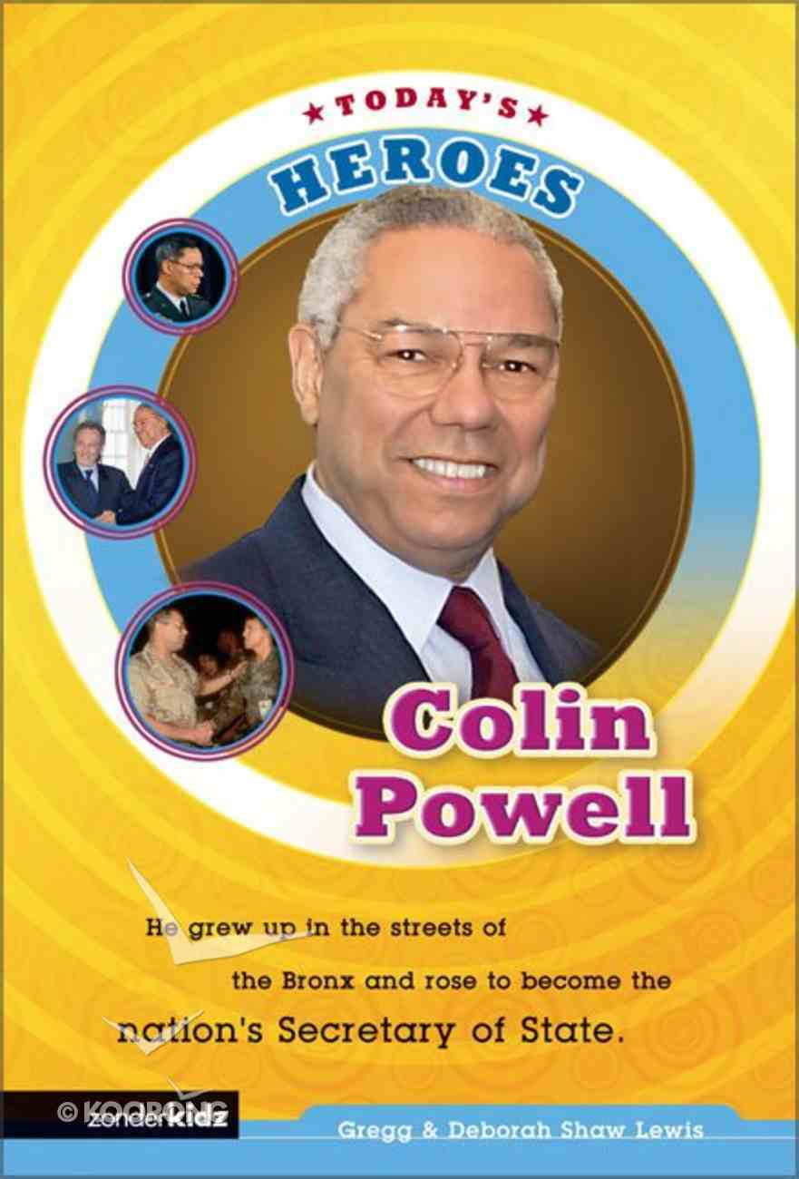 Colin Powell (Today's Heroes Series) Paperback