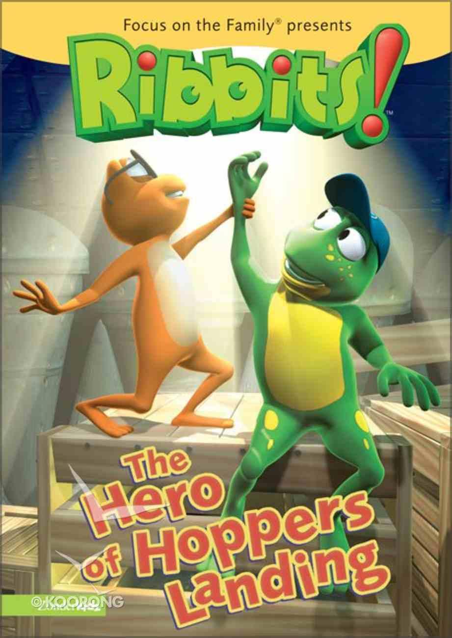 The Ribbits #01: Hero of Hoppers Landing (#01 in Ribbits Dvd Series) DVD