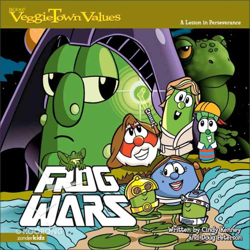 Frog Wars - a Lesson in Perseverance (#02 in Veggie Tales: Veggie Town Values (Veggietales) Series) Paperback