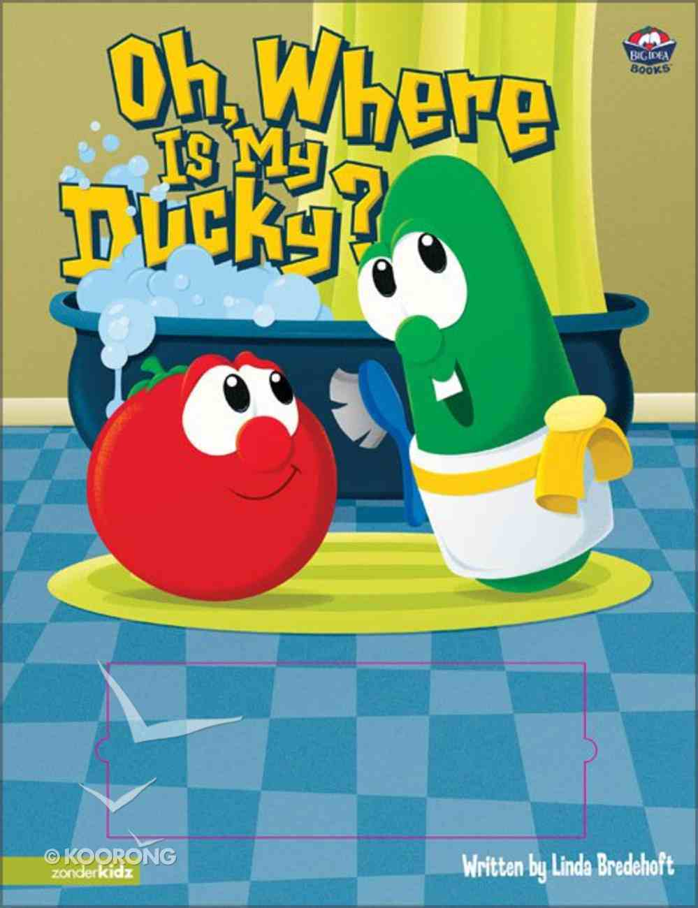 Oh Where is My Ducky (Veggie Tales (Veggietales) Series) Board Book