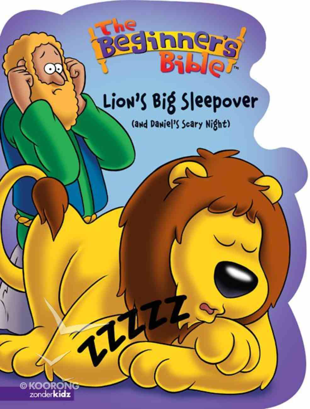 The Lion's Big Sleepover  (And Daniel's Scary Night) (Beginner's Bible Series) Board Book