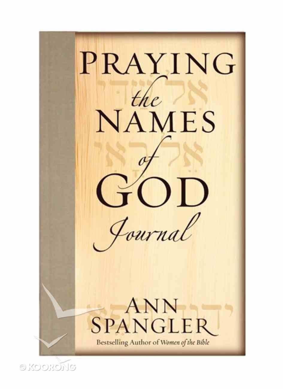 Praying the Names of God (Journal) Hardback