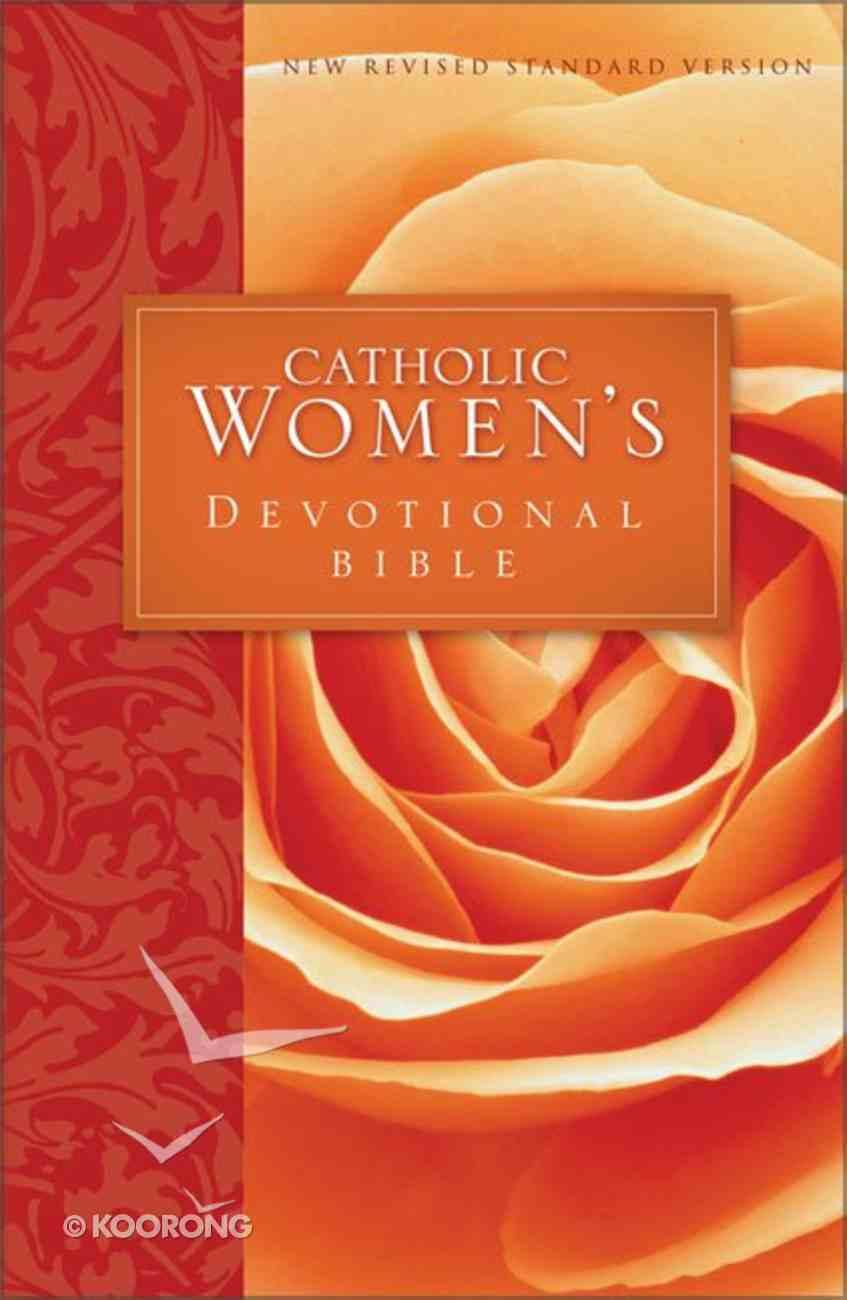 NRSV Catholic Women's Devotional Bible (Black Letter Edition) Paperback