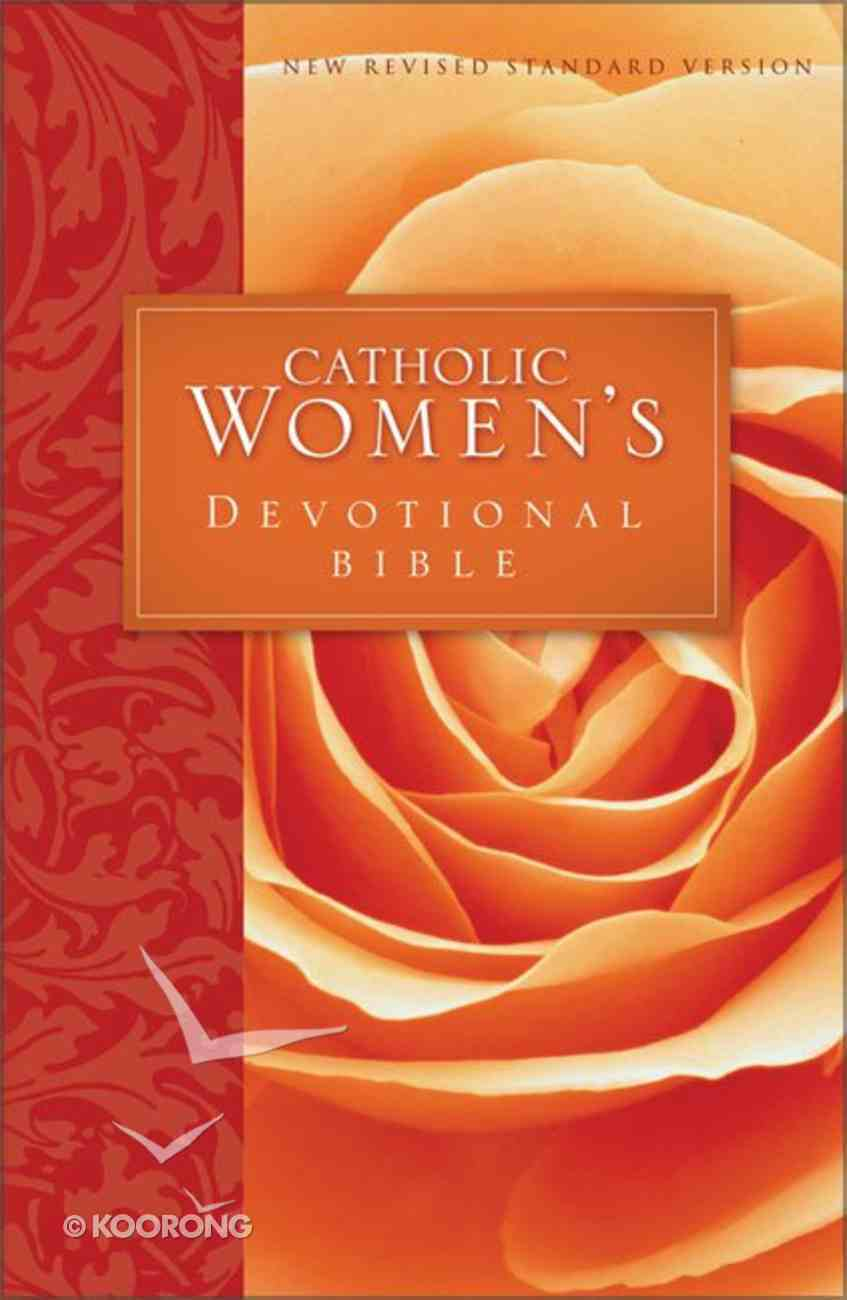 NRSV Catholic Women's Devotional Bible (Black Letter Edition) Hardback