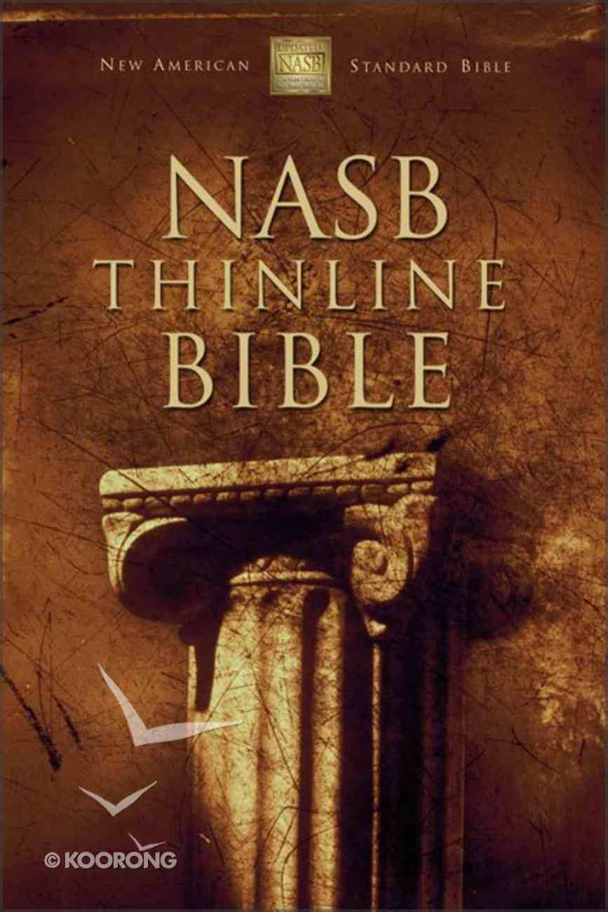 NASB Updated Thinline Burgundy (Red Letter Edition) Bonded Leather
