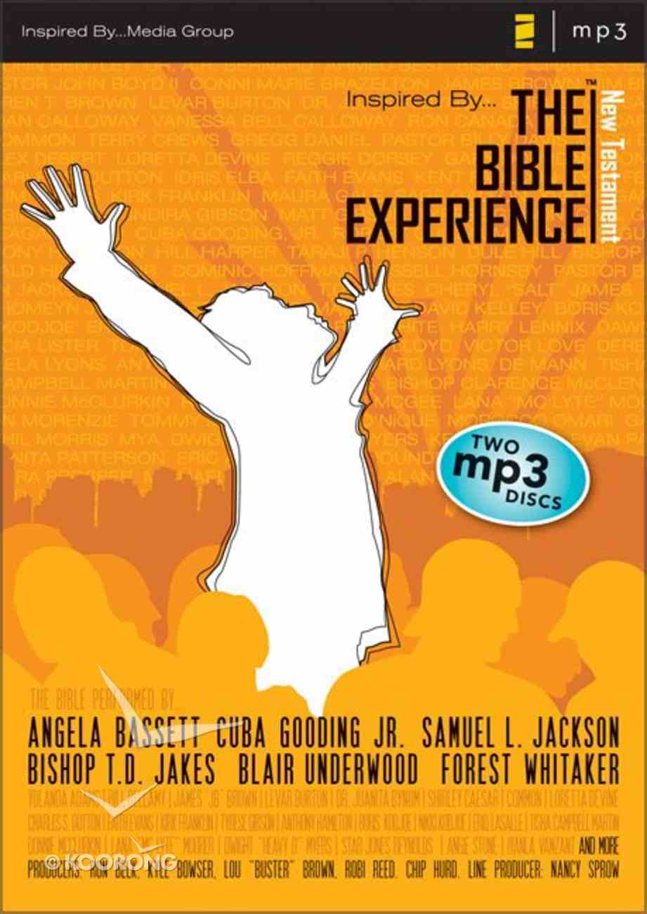 Inspired By... the Bible Experience New Testament Audio MP3 CD
