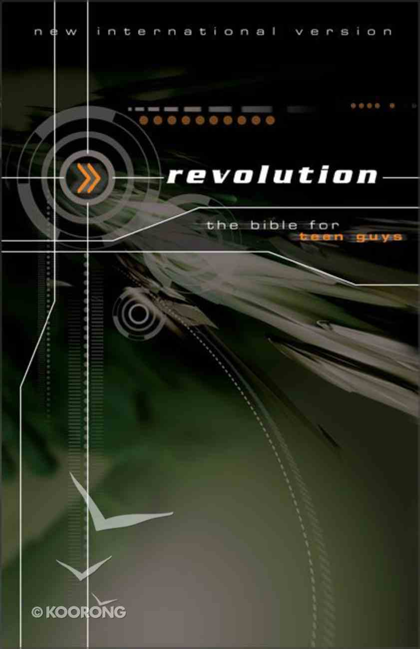 NIV Revolution Teen Bible (Guys) Hardback