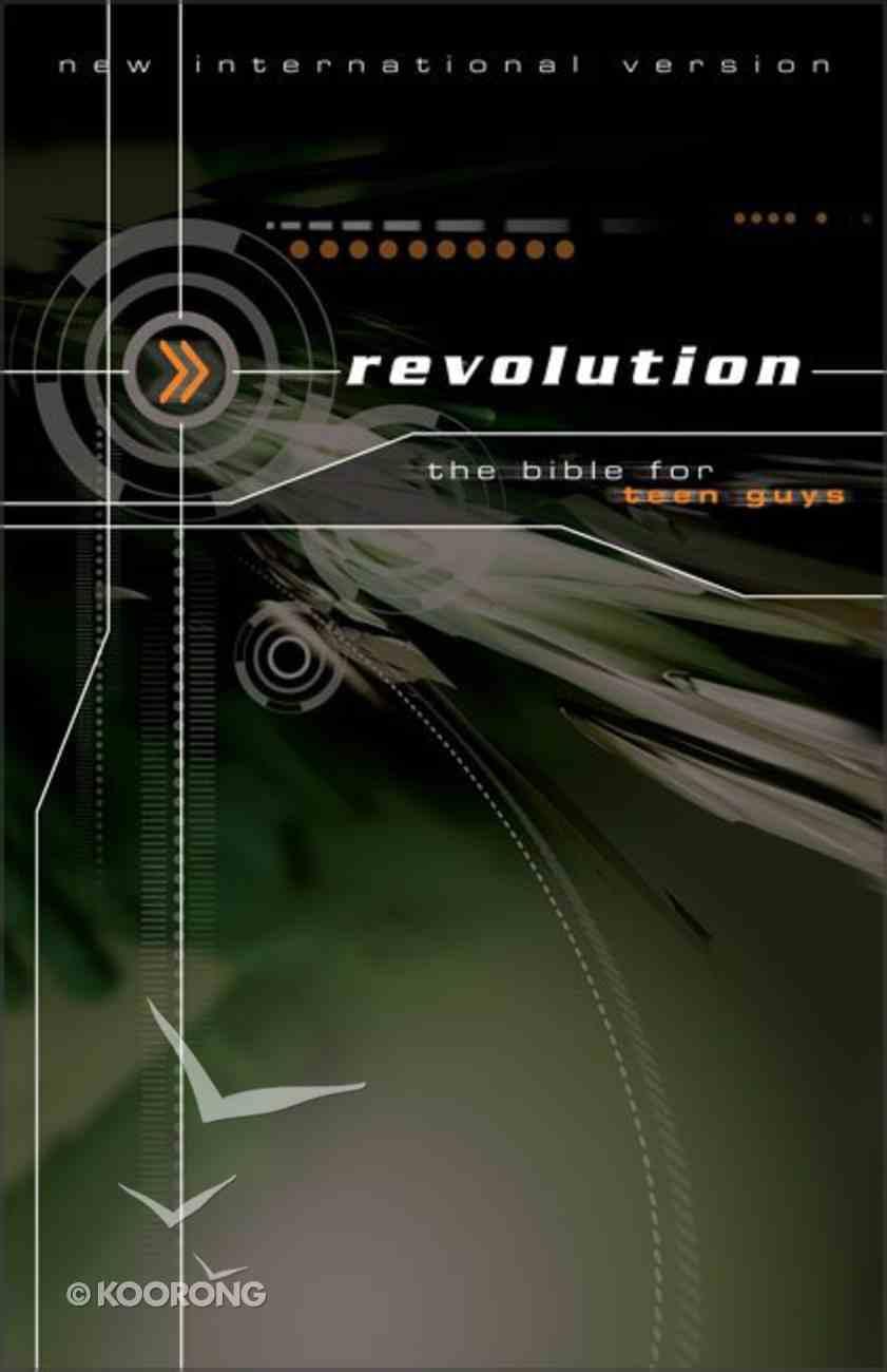 NIV Revolution Teen Bible (Guys) Paperback