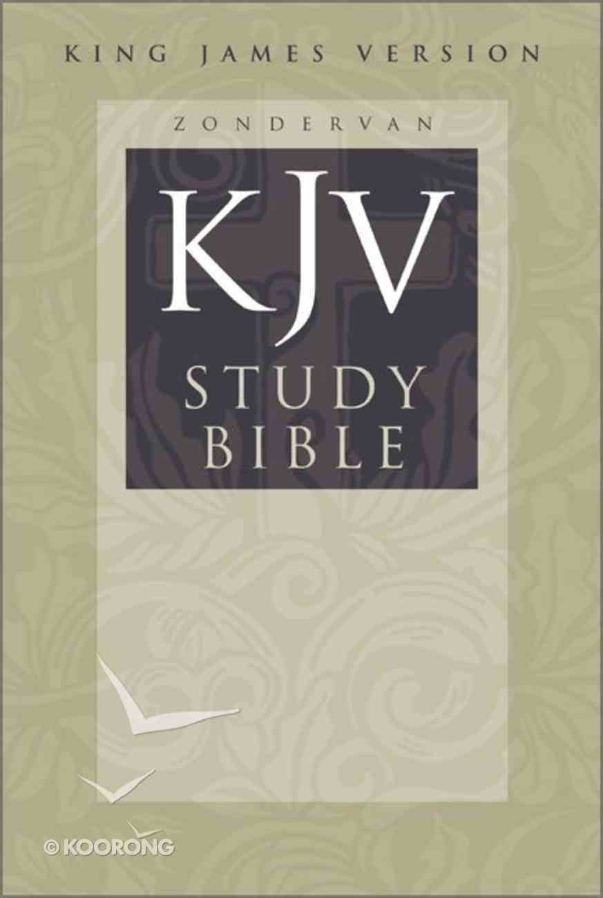 KJV Study Bible Large Print Edition Hardback