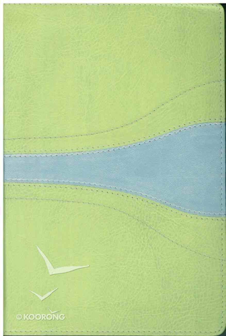 NIV Student Bible Light Melon/Sky Blue Imitation Leather