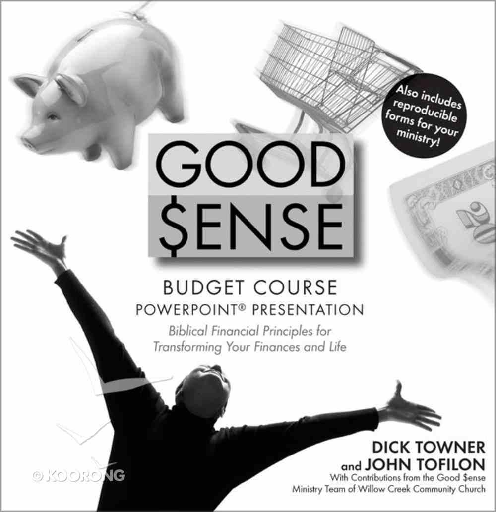 Good Sense (Budget Course Powerpoint Cdrom) CD-rom