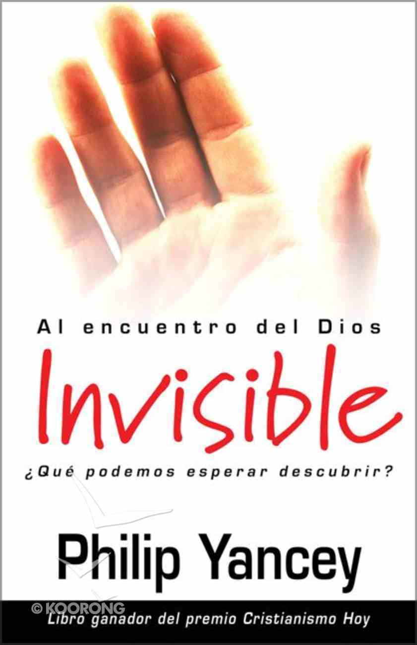 Al Encouentro Del Dios Invisible (What Can I Expect From A Relationship With God) Paperback