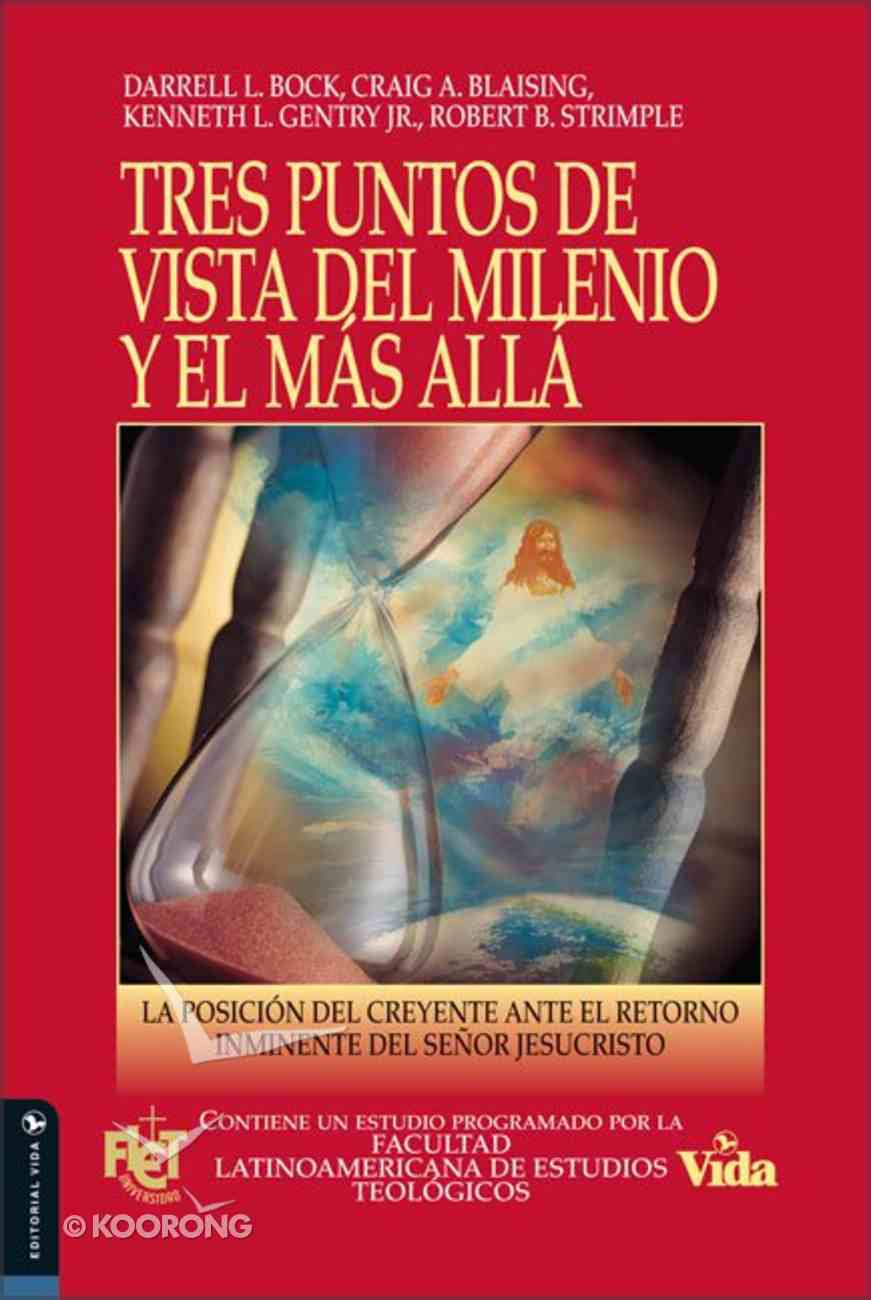 Tres Puntos De Vista Sobre El Milenio (Three Views On The Millennium) Paperback