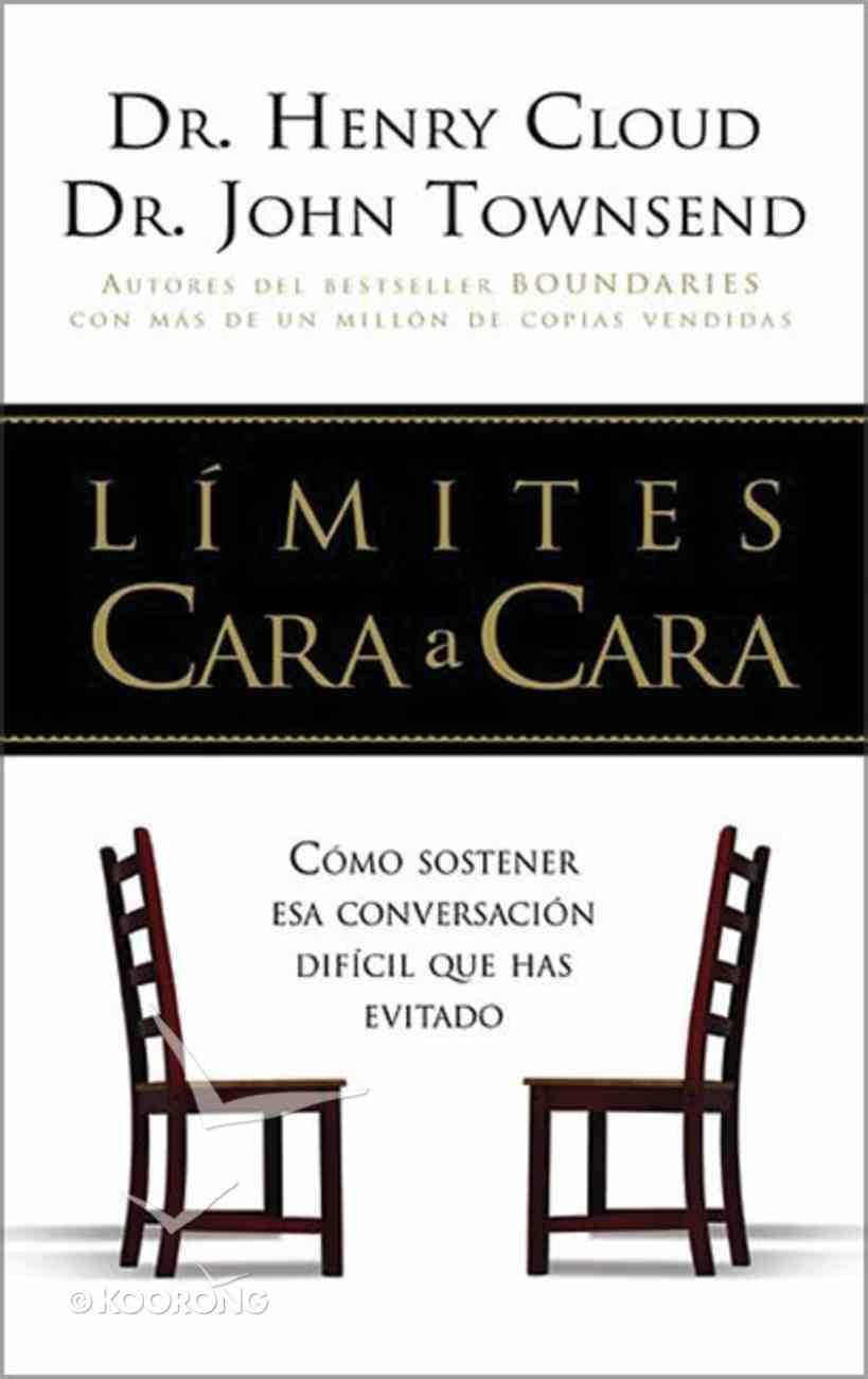 Limites Cara a Cara (Boundaries Face To Face) Paperback