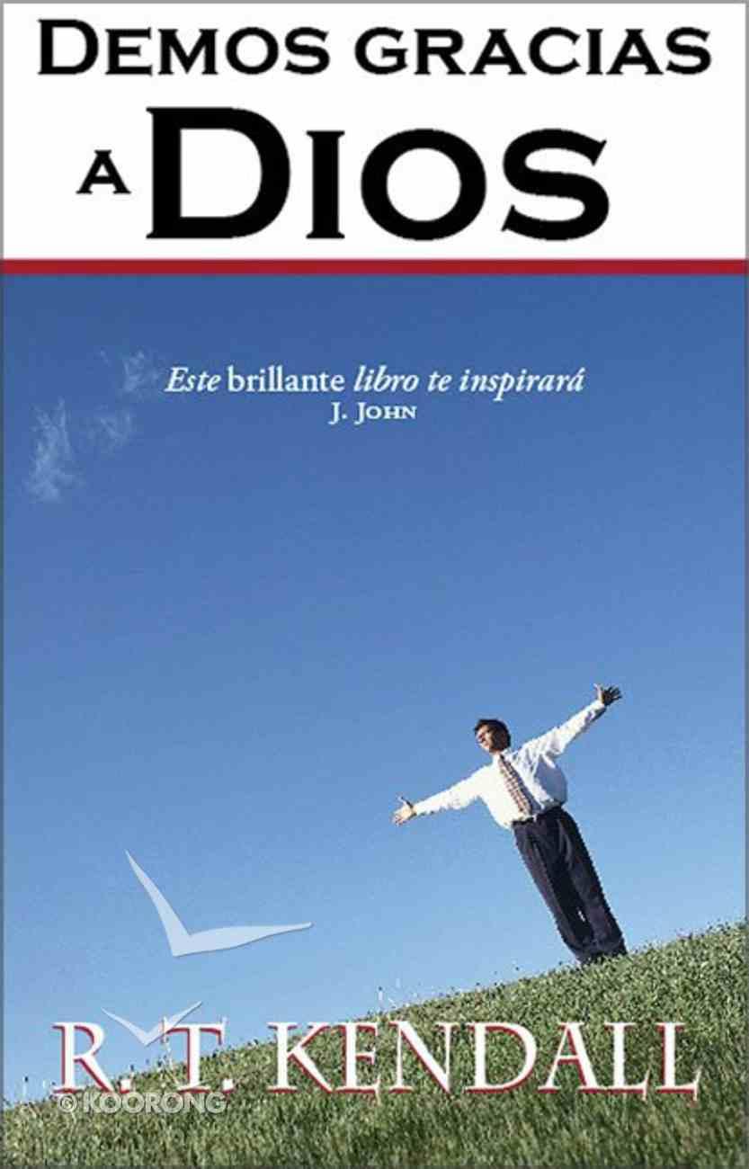 Demos Gracias a Dios (Thanking God) Paperback