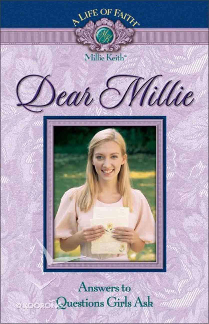 Dear Millie (Life Of Faith: Millie Keith Series) Hardback