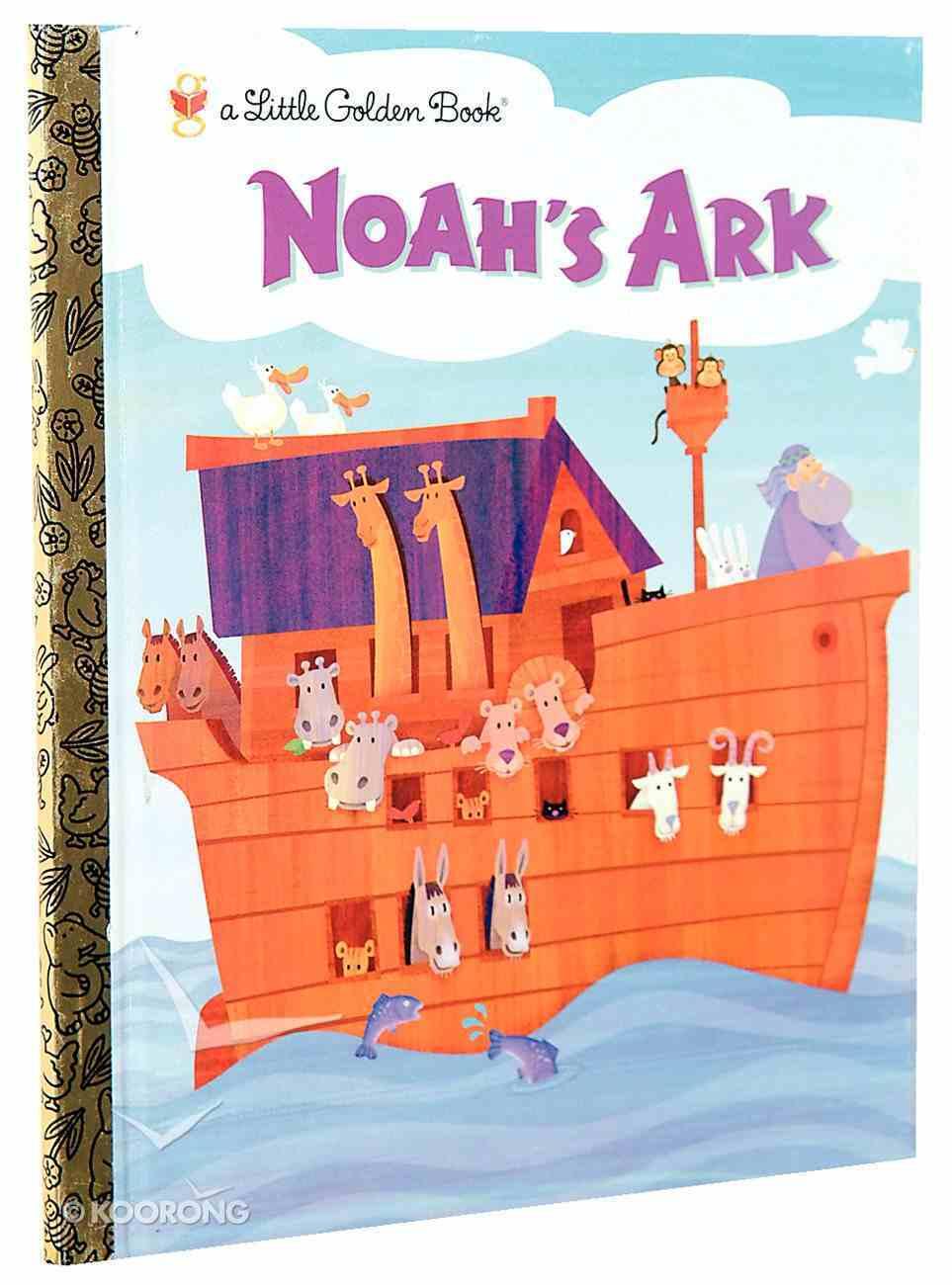 Noah's Ark (Little Golden Book Series) Hardback
