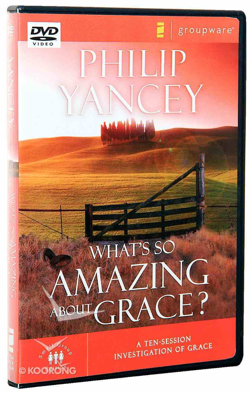 What's So Amazing About Grace? DVD (Small Group Edition) Dvd-rom
