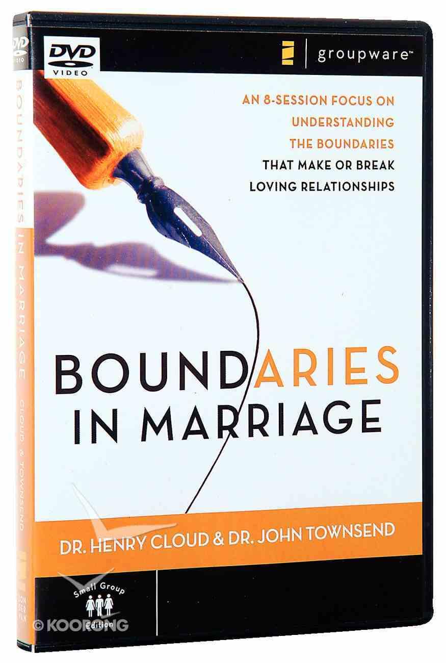 Boundaries in Marriage DVD (Dvd-rom) Dvd-rom
