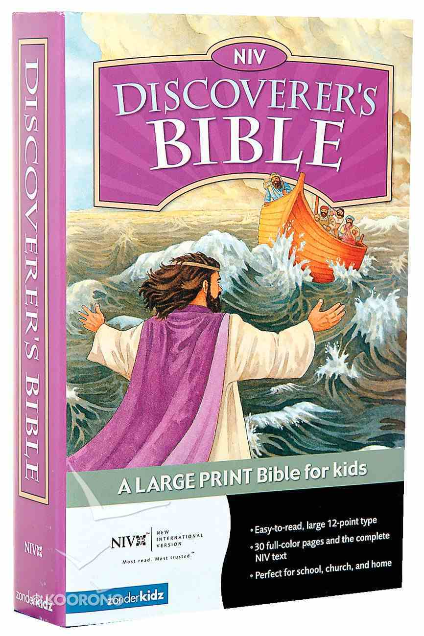 NIV Discoverer's Bible Hardback