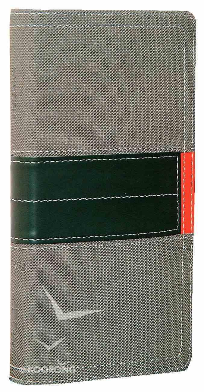 TNIV Pocket Slim Bible Clay/Fatigue Green Bonded Leather
